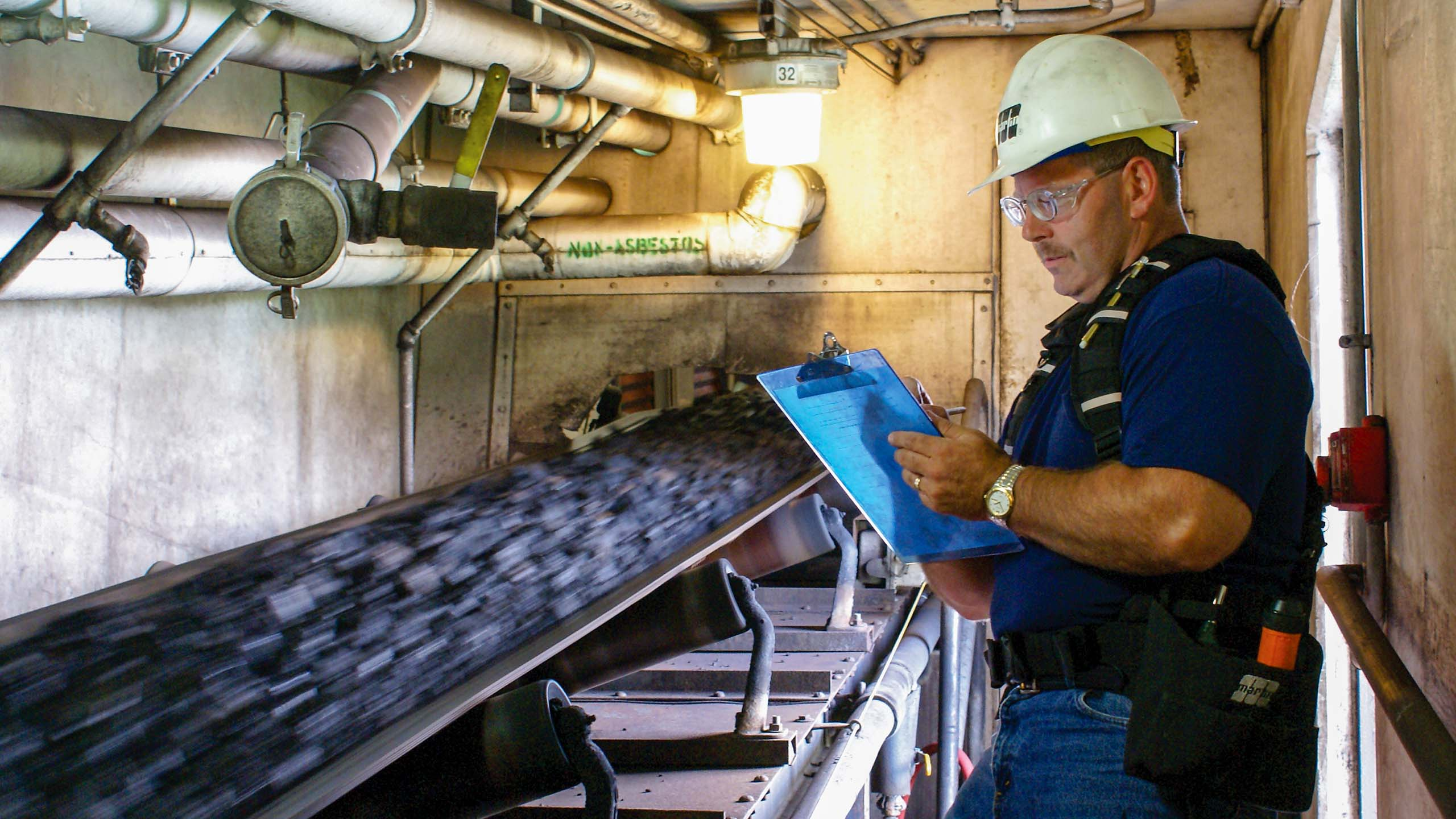 Inspecting conveyor belts improves performance and safety