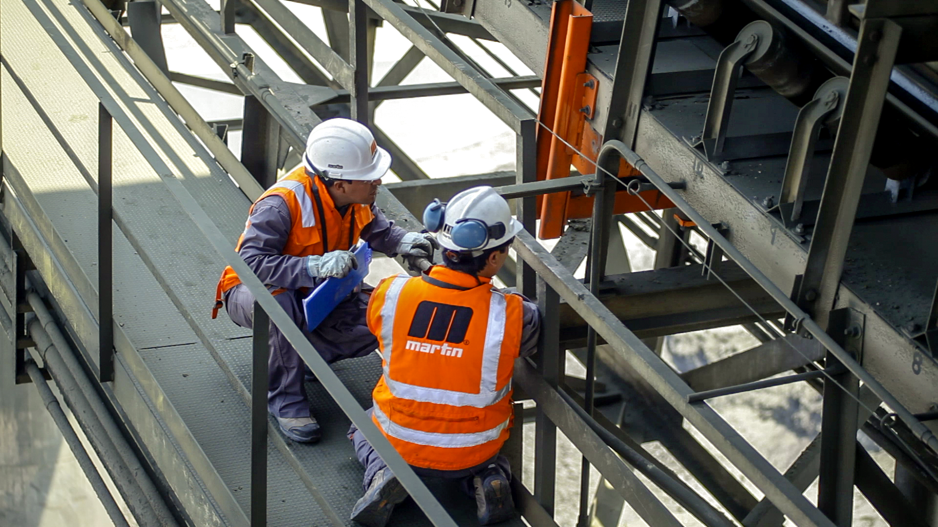 Conveyor Inspection increases productivity
