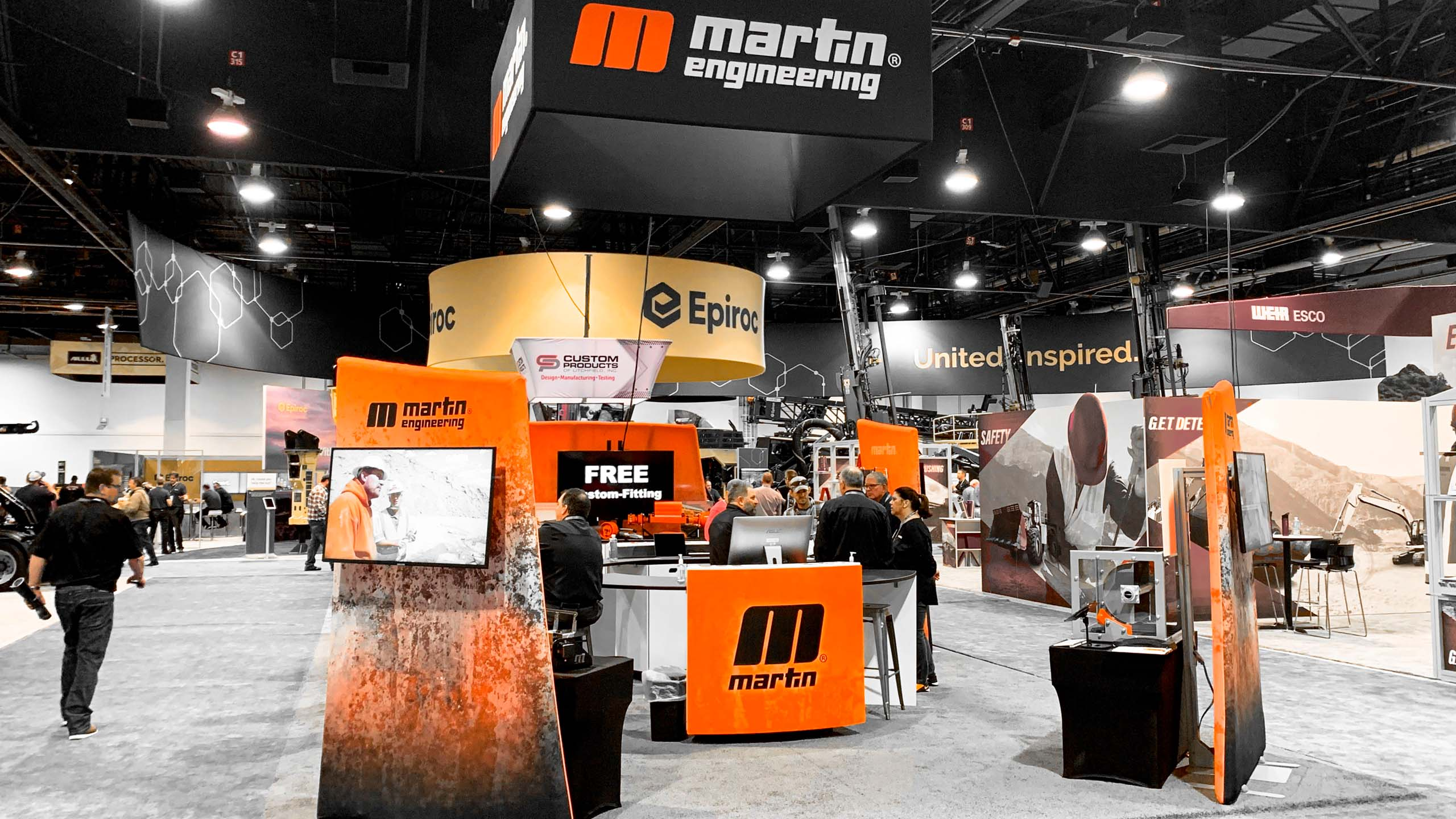 Martin Engineerng will be displaying new technology at the Minexpo show in Las Vegas