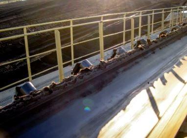 Conveyor Belt Edge Damage